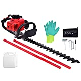 """Best Gas Hedge Trimmers - NN/AA 23.6cc Gas Hedge Trimmer 24"""" 2 Cycle Review"""