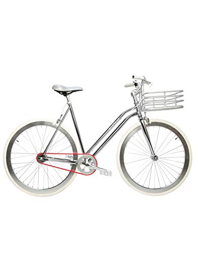 Review Of Martone Cycling Co. Women's Regard 3 Gear Step-Thru Bicycle, Silver
