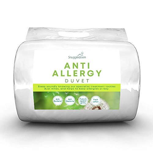 Snuggledown Anti Allergy Double Duvet 10.5 Tog All Seasons Duvet Double Bed