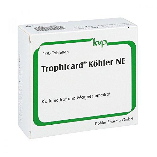 Trophicard Köhler NE Tabletten, 100 St. Tabletten