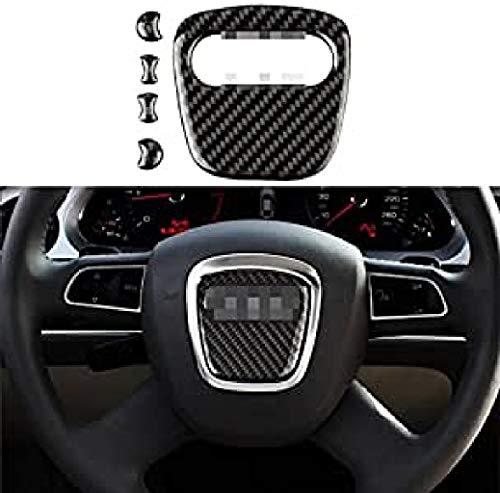 Emblem Trading Lenkrad Mittelring Blende Carbon Optik A1 A3 A4 A5 A6 A7 A8 Q2 Q3 Q5 TT Autozubehör