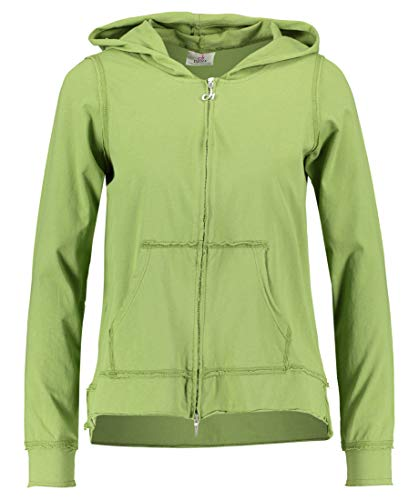 DEHA Damen Sweatjacke grün (400) L