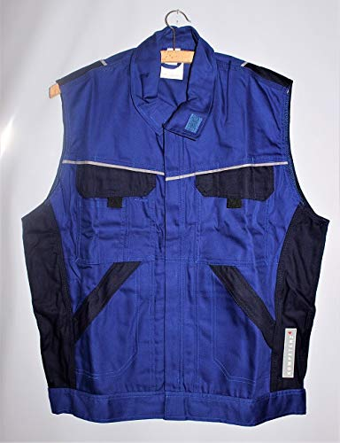 VIKING Rubber Weste royal Arbeitskleidung Arbeitsweste Winterweste Winter Kälte, Größe:L