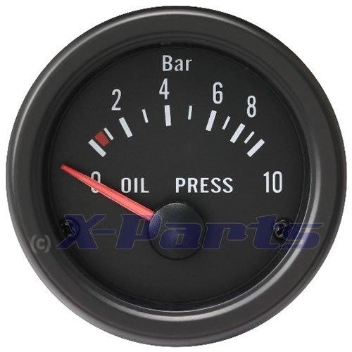 X-Parts Retro-Öldruckanzeige Oldschool 52mm