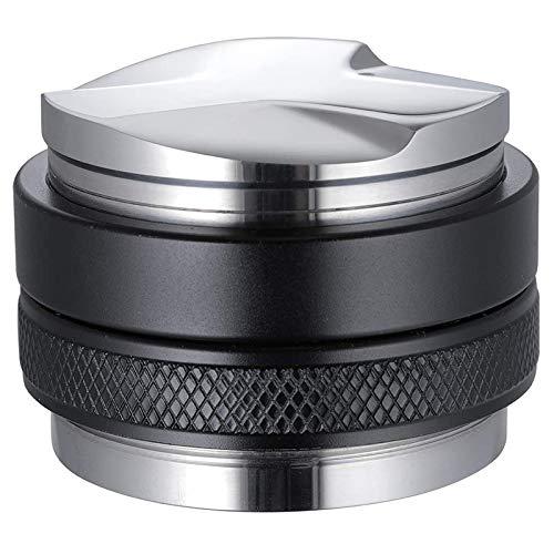 Jcevium 53 mm Doppelkopf-Kaffeetuner für 54 mm Siebträger mit einstellbarer Tiefe, professioneller manueller Espressokocher