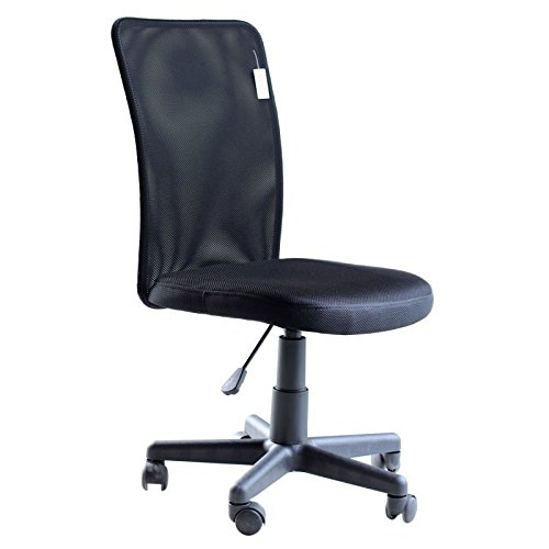 IDS Armless Office Chair With Lumbar Support
