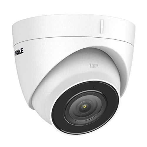 ANNKE C500 5MP PoE Security IP Camera with Sony Sensor, H.265+ Turret Camera with ONVIF & RTSP, Built-in Mic, 100ft EXIR 2.0 Night Vision, 120dB WDR&3D DNR, Support 256 GB Micro SD,Smart Motion Alerts