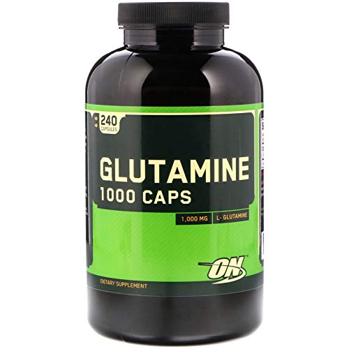 Optimum Nutrition Amino Acide Glutamine 1000 240 Capsules