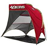 Logo Brands Officially Licensed NFL San Francisco 49ers Unisex Retreat Cabana, One Size, Team Color