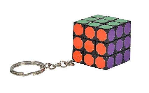 Simba 106139122 - Games & More Trick Würfel mit Schlüsselanhänger, mehrfarbig