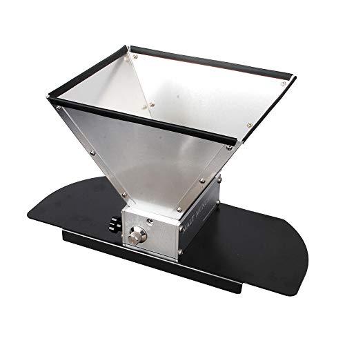 Trituradora de rodillos de acero inoxidable premium 2 Pro Molino de grano de malta con base