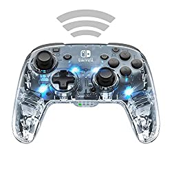 Wireless connectivity and a rechargeable battery for longer play-time Colorful LED light design with customizable colors and lighting modes Motion controls to maximize your gameplay Dual programmable paddle-style back buttons to fit the way you play ...