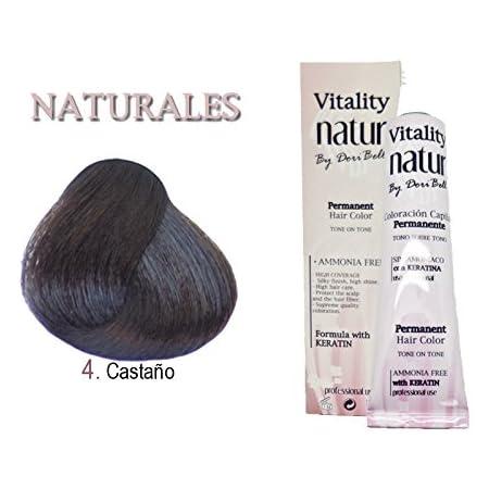 Tinte Vitality Natur Sin Amoniaco + Keratina 60ml. Tono ...