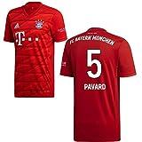 adidas FCB FC Bayern München Trikot Home Heimtrikot 2019 2020 Herren Pavard 5 Gr XXXL