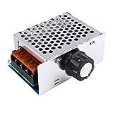 4000W SCR AC 220V 電圧レギュレーター 調光器モータ スピードコントローラ 速度制御装置 電子電圧安定器