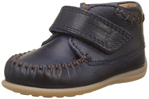 Bisgaard Unisex Baby Lauflernschuhe Sneaker, Blau (21 Navy), 20 EU
