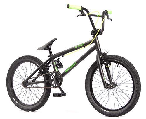 KHE, bicicletta BMX Barcode FS 20 pollici nera, solo 11,3 kg.