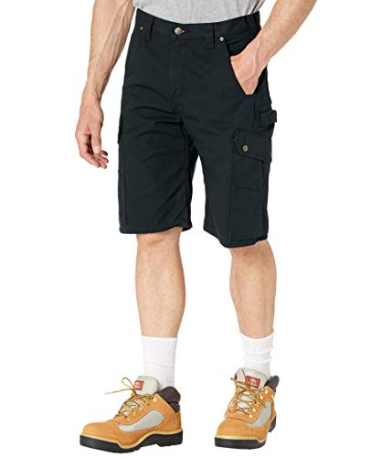 Carhartt RipStop Cargo Shorts Farbe:-Black Gr:-W32