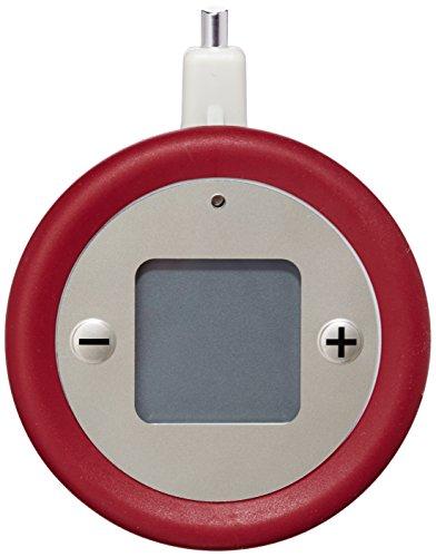 Tefal X1060005 Minuteur, Plastique, Rouge, 17,5 x 2,8 x 12,5 cm