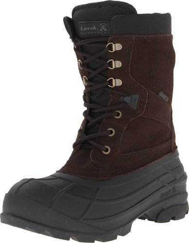 Kamik Herren Nationwide Schneestiefel, Braun (Dark Brown DBR), 46 EU