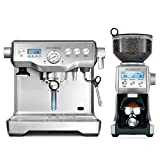 Design Espresso Maschine Advanced Control - Diese Gastroback Espressomaschine mit zwei getrennten Boilern bietet die Möglichkeit gleichzeitig Espresso zu extrahieren und Milchschaum zuzubereiten. Professionelle, italienische Espressopumpe (Ulka/15 ba...