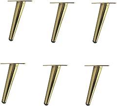 Ligstoelen meubelpoten voor tapijt Houten meubelen Bankpoot Set van 4 voor bankkast Stoel Zwart Vervangende verlengstukken...