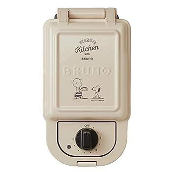 BRUNO Peanuts Hot Sand Maker BOE069-ECRU Japan Import
