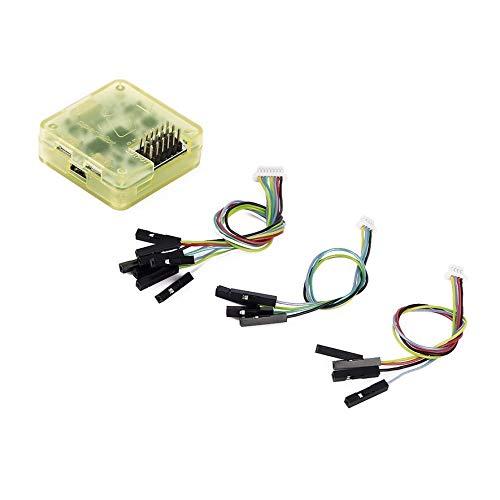 8Eninise Controlador de Vuelo Cc3D Procesador de 32 bits con Pin Recto de Caja para multirotor Amarillo