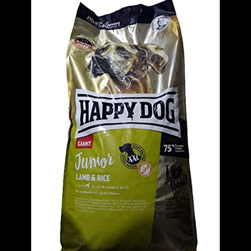 Happy Dog Supreme Junior Giant Lamb & Rice 15kg