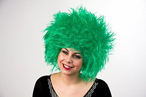 Perruque Nina, vert