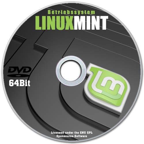 LINUX MINT 19.3 Cinnamon 64bit CD DVD NEUWARE Betriebssystem auf Deutsch