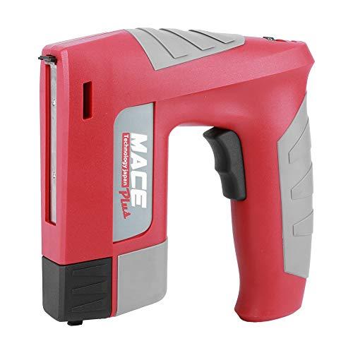 DyAn Mini Pistola De Grapas Inalámbrica Recargable Tacker Tacker para Herramientas De Perforación De Reparación De Materiales Domésticos/Exteriores