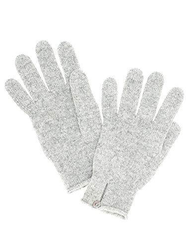 [ジョンストンズ] JOHNSTONS レディース 手袋 ライトグレー BUTTON LOOP GLOVES HAY02241 HA020052 LIGHT GREY [並行輸入品]