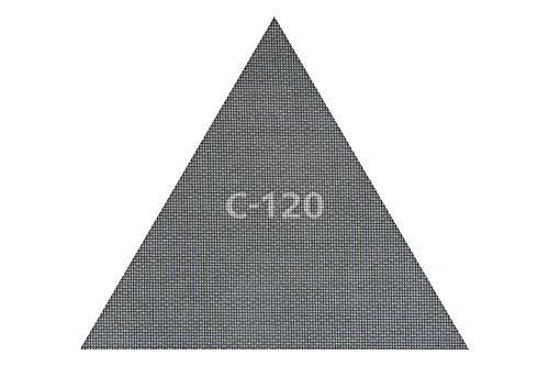 Wolfcraft 3162000 - Pack de 3 tejidos de rejilla adherentes (carburo de silicio, 290 x 250 mm, grano 120)