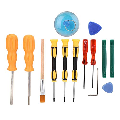 Ciglow 14 Pcs Repair Tools, Professinal Precision Repair Opening Tool kit Screwdriver Set for Nintendo/Xbox 360.