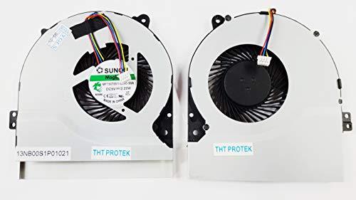 Kompatibel für ASUS K46 K46SL K56 K56C K56CA K56CB K56CM Lüfter Kühler Fan Cooler Version 1