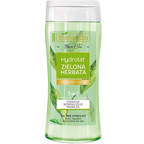 BIELENDA GRÜNER TEE Anti- AKNE Gesichtswasser mit Teebaumöl Fettige Haut und Mischhaut 200ml