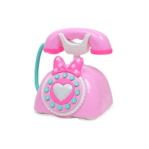 GZQ Juguete del telefono,, Teléfono ABC con Sonido,Mini teléfono de emulación para niños,Color Azar