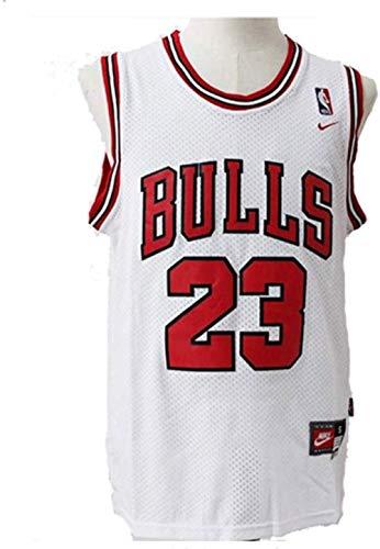 XLXay - Camiseta de baloncesto para hombre de la NBA Michael Jordan #23 de los Chicago Bulls Jordan Jordan s fieles fans en el 23rd no debe perderse esta camiseta