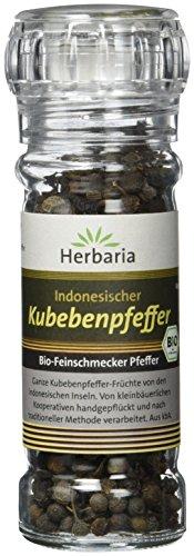 Herbaria Kubebenpfeffer, 1er Pack (1 x 35 g Glasmühle) - Bio