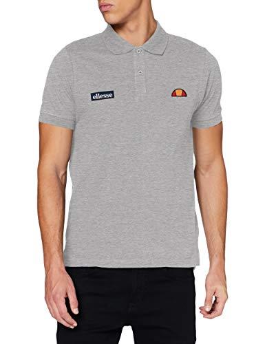 ellesse Montura Poloshirt, Tennis-Shirt, für Herren XXL Grau (ath Grey)