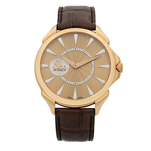 Jacob & Co. Palatial 18k Rose Gold Automatic Mens Watch 110.300.40.NS.NB.1NS