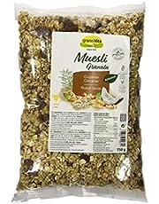 GRANOVITA Muesli Crujiente Frutos Secos Cereales, 750 gr