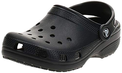 Crocs Classic Clog K, Zuecos Unisex Niños, Negro (Black), 23/24 EU