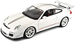 Highly detailed die-cast metal body with plastic parts Opening doors, hood and trunk on most styles Full function steering, four wheel suspension Perfectly molded engine, accurate Gauges and dash inside Comes in varied colors.