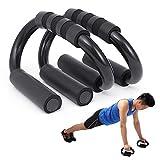 Gxhong Soporte para Flexiones, 1 Par de Push up Bars Stand, Asas Profesionales para Flexiones con Mango de Espuma Antideslizante, para Entrenamiento Muscular y de Fuerza