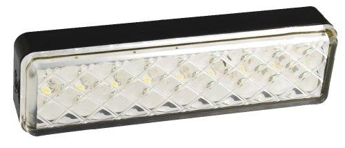 LED Autolamps 135mm Multivolt Reverse leicht Slimline (Surface Mount)