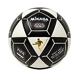 Mikasa FT5A Goal Master Balón de fútbol, Blanco/Negro, Talla 5