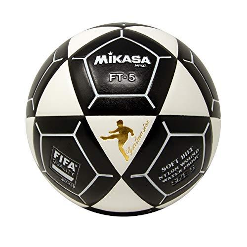 Mikasa FT5A Goal Master - Pallone da calcio, colore: Bianco/Nero, misura 5