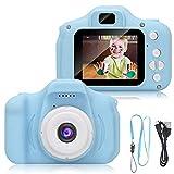 VILHOZ Kids Digital Camera, Recorder Camera 800W HD 2.0 Inch Screen Video Front Camera Child Camera...